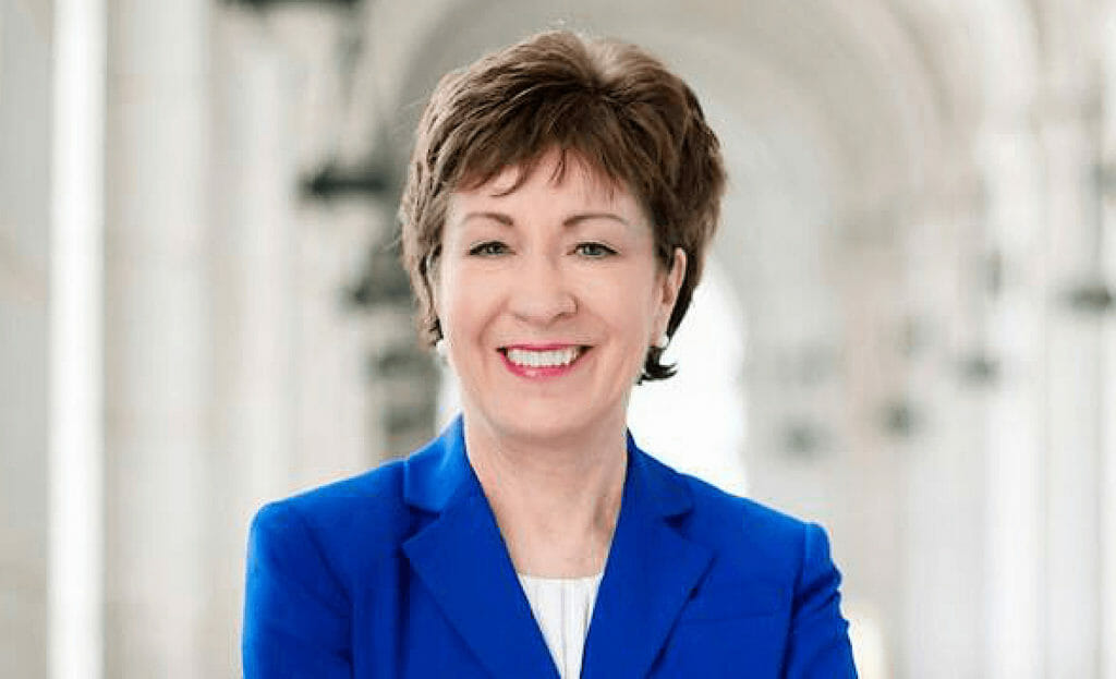 Susan Collins Bio Net Worth, Bio, Education, Investments and more